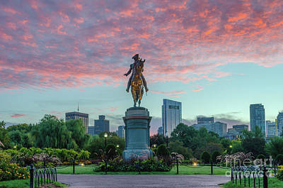 Photograph - George Washington At Sunrise by Mike Ste Marie