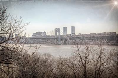 Photograph - George Washington Bridge by Alison Frank