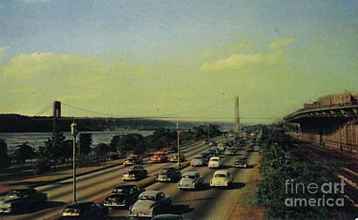 Art Print featuring the photograph George Washington Bridge  by Cole Thompson