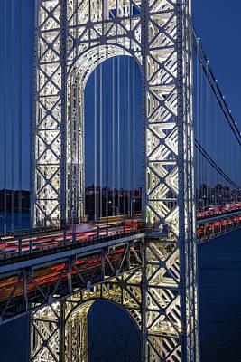 Photograph - George Washington Bridge Gwb by Susan Candelario