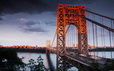 Politicians Wall Art - Photograph - George Washington Bridge by Jackie Russo
