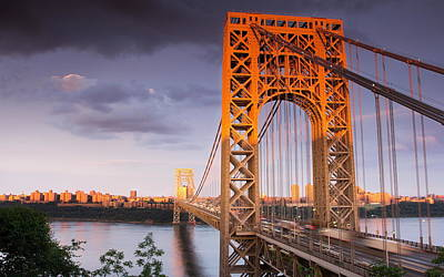 Politicians Wall Art - Photograph - George Washington Bridge by Mariel Mcmeeking