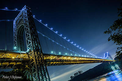 Politicians Wall Art - Photograph - George Washington Bridge Span by Peter J DeJesus