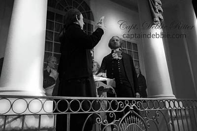 Photograph - George Washington by Captain Debbie Ritter