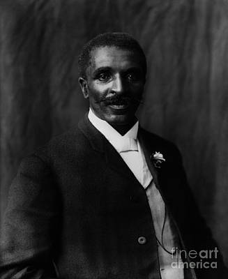 George Washington Carver Art Print by Celestial Images
