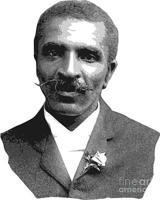 George Washington Carver Digital Art - George Washington Carver by Frederick Holiday