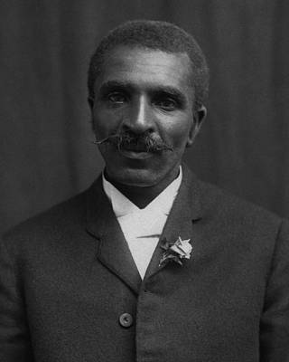 Black History Photograph - George Washington Carver Portrait by War Is Hell Store