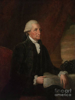 President Painting - George Washington by Edward Savage