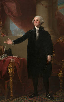 Painting - George Washington by Gilbert Stuart
