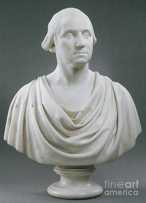 Sculpture - George Washington by Hiram Powers