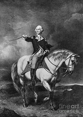 Colonial Man Photograph - George Washington, Illustration by H. Armstrong Roberts/ClassicStock