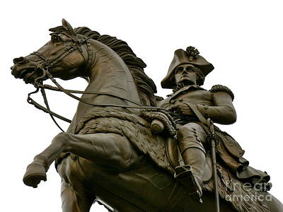 Photograph - George Washington by Jean Wright