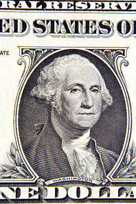 Politicians Royalty-Free and Rights-Managed Images - George Washington by Les Cunliffe