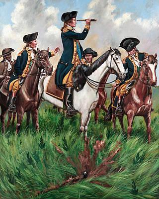 George Washington On Perrine's Hill Original