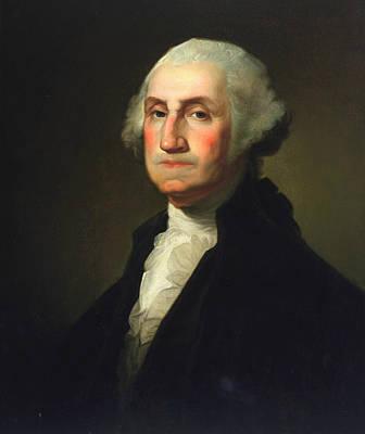 George Washington Art Print by Rembrandt Peale