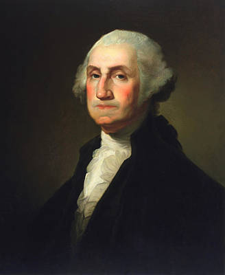 President Washington Painting - George Washington - Rembrandt Peale by War Is Hell Store