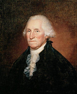 First Americans Painting - George Washington  by Rembrandt Peale