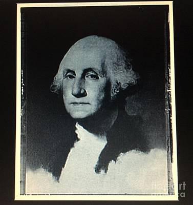Photograph - George Washington by Richard W Linford