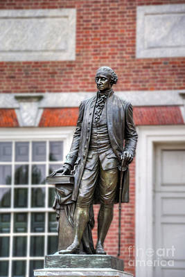 Photograph - George Washington Statue by David Zanzinger