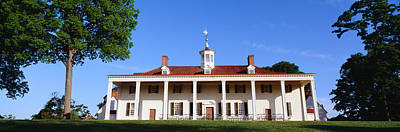George Washingtons Home At Mount Art Print by Panoramic Images