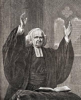 George Whitefield, 1714 To 1770. Church Art Print