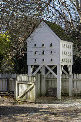 Dovecote Photograph - George Wythe Dovecote by Teresa Mucha
