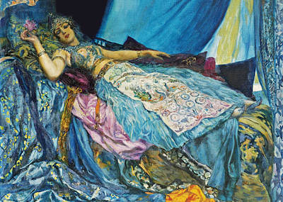 Photograph - Georges Antoine Sleeping Beauty by Munir Alawi