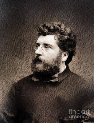 Georges Bizet, Composer Art Print by John Springfield