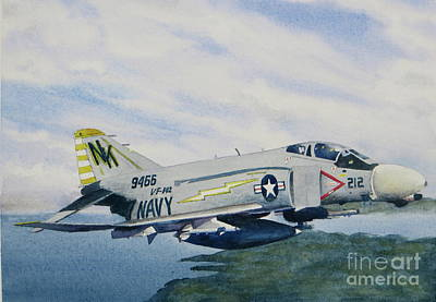 Painting - George's Fighter Plane by Karol Wyckoff