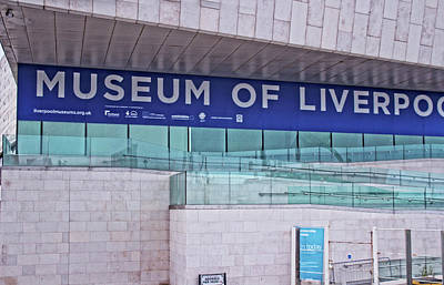 Photograph - Georges Pier Head - Museum Of Liverpool by Doc Braham