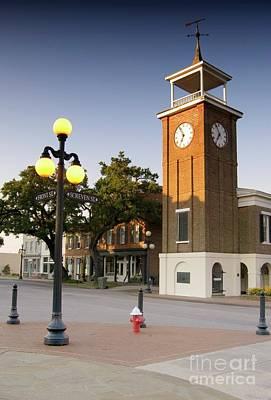 Photograph - Georgetown Clock South Carolina by Bob Pardue