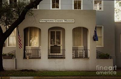 Photograph - Georgetown County Museum South Carolina by Bob Pardue