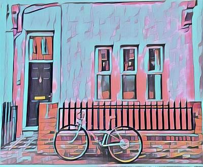 Georgetown Cycle Art Print