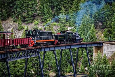 Georgetown Railroad At Devil's Gate Print by Jon Burch Photography