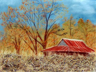 Pastel - Georgia Barn by Jan Amiss Photography