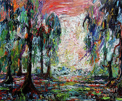 Painting - Georgia Okefenokee Morning Light by Ginette Callaway