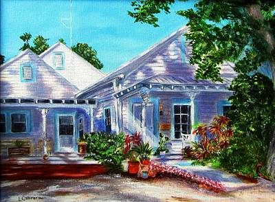 Painting - Georgia Street, Key West by Linda Cabrera