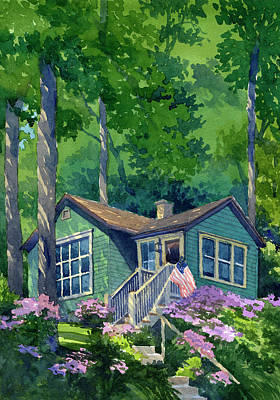 Painting - Georgia Townsend House by James Faecke