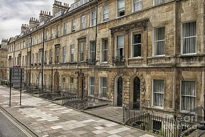 Photograph - Georgian Architecture In Bath, England by Patricia Hofmeester