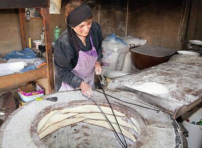 Photograph - Georgian Bakery by Ramunas Bruzas