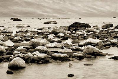 Beach Photograph - Georgian Bay by Linda McRae