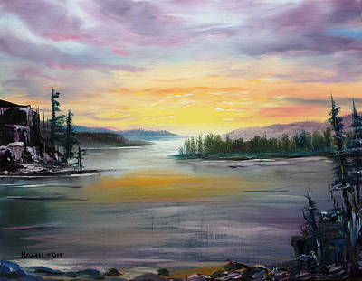 Georgian Bay Sunset Art Print