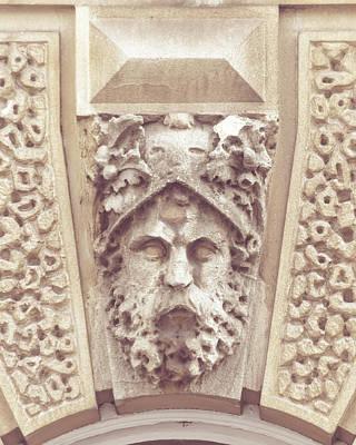 Photograph - Georgian Decorative Keystone A by Jacek Wojnarowski