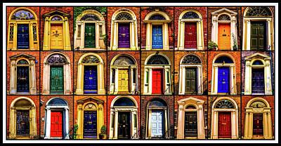 Photograph - Georgian Doors Of Dublin 1 by Lexa Harpell
