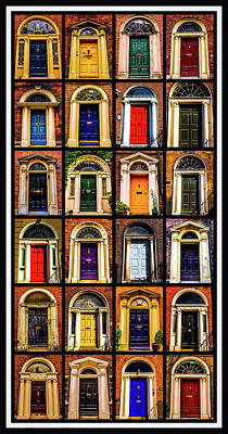 Georgian Doors Of Dublin 3 Art Print