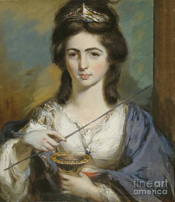Duchess Of Devonshire Painting - Georgiana Spencer Duchess Of Devonshire by Celestial Images