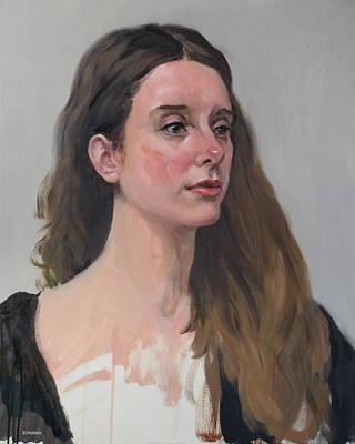 Painting - Georgina In Three-quarter Time by Robert Holden