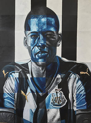 Painting - Georginio Wijnaldum by Steve Hunter