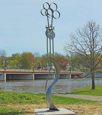 Sculpture - Geospire by Tom Brewitz