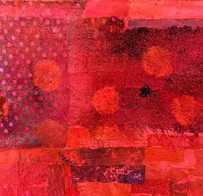 Geranium Art Print by Lynda Bleyberg